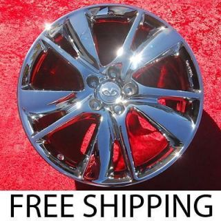 NEW 20 INFINITI FX35 FX45 FX50 OEM CHROME WHEELS RIMS 73748 EXCHANGE