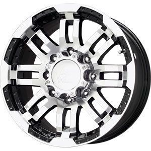 New 17x8 5 5x139 7 Vision Warrior Black Wheels Rims