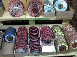 PEARL GRINDING/CUTTING WHEELS   MISCELLANEOUS WELDING/MACHINE SHOP