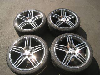 19 MERCEDES E550 AMG WHEELS TIRES E55 SLK CLK500 S500 CLS500 E350 C220