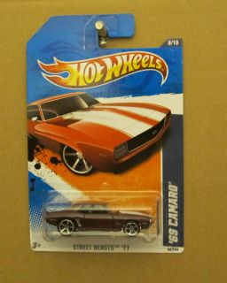 Hot Wheels 69 Camaro SS RARE Color