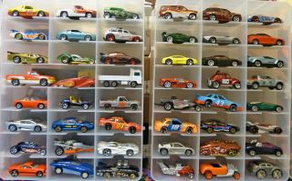 48 Assorted Matchbox Hot Wheels & More Diecast Car Lot Trucks, Cars