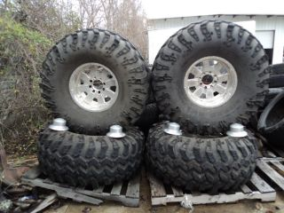 Weld Wheels Irok Swamper 21 49 20LT Tires 8 Lug Ford F250 49