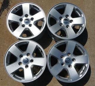 2003 2012 Dodge RAM 1500 Factory 17 Aluminum Alloy Wheels 2362