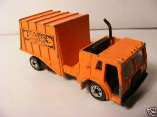 Hot Wheels Workhorses Trash Truck Malaysia 1982