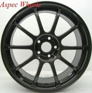 18x8 5 Rota G Force Wheels 5x100 Rim 56 1 Hub Gun Metal