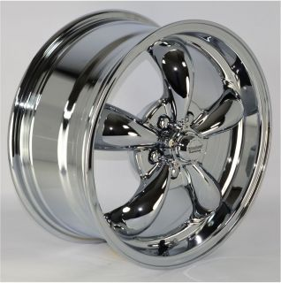 16x7 5 Spoke Chrome Wheels Rims 5x100 mm for Chrysler PT Cruiser 2002