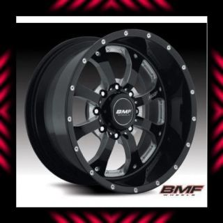 BMF Wheels 8x6 5 20x9 Novakane Death Metal Black 03 12 Dodge Cummins