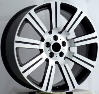 Stormer Wheels Set For Range Land Rover Sport HSE LR3 LR4 Rims & Caps