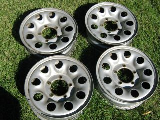 Suzuki Sidekick 4 Steel Wheels Good Shape