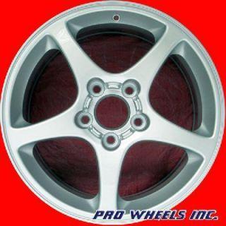Chevrolet Corvette 18 Silver Factory Original Wheel Rim 5105