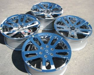 Factory Nissan Titan Armada Chrome Wheels Rims QX56 Pathfinder