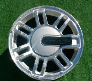 Plain Finish Factory Hummer H3 Wheel Rim 6304