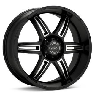 20 inch Toyota Truck SUV Black Rims Wheels 6 Lug