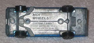 Vintage 1967 Hot Wheels Red Line Custom T Bird Complete