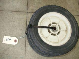Vintage Honda Lawnmower Lawn Mower Front Push Wheels Tires 61A
