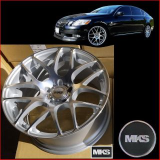 19 5x114 3 Staggered Concave Wheels Lexus IS250 is350 gs350 GS430