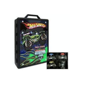 Hot Wheels Monster Jam Carrying Case zTS
