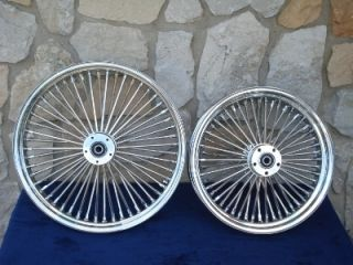 DNA Mammoth Fat Daddy 52 Spoke Wheels 4 Harley Softail Touring