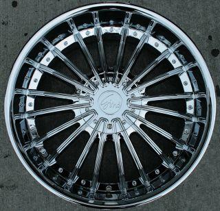 RVM 487 22 Chrome Rims Wheels Nissan Armada QX56