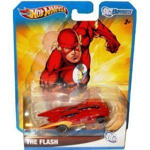 The Flash DC Universe 2012 Hot Wheels 1 64 Car W4512