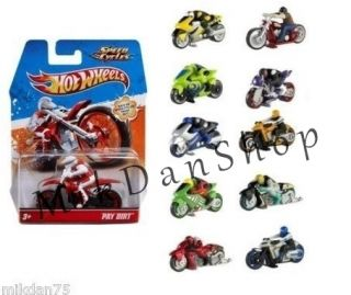 Hot Wheels New Motor Speed Cycles Motorcycle 1 64