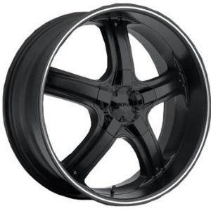 24 inch 24X10 Boss 333 Black Wheel Rim 6x5 5 Tacoma Tundra Escalade