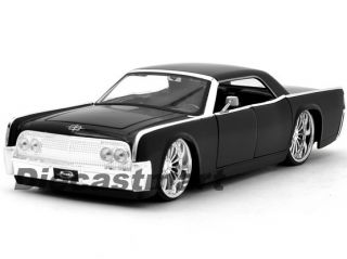 Continental New Diecast Model Car Black with Spoked Rims