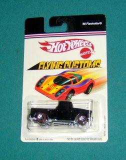 2006 Hot Wheels Flying Customs Series, #K 4745, 56 Flashsider, Black