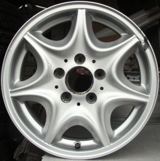 Mercedes C Class Replacement Spare 15 Alloy Wheel Rim 2034010102