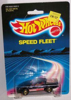 Hot Wheels 1980s Corvette Coupe Speed Fleet Opening Hood 1 64 Scale