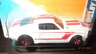 2012 Hot Wheels 67 Shelby GT 500 Muscle Mania 12 Ford White 114 247