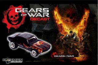 Hot Wheels Custom Gears of War 67 Camaro by The Boxman