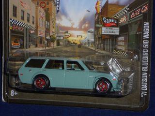 Hot Wheels 2013 Boulevard Series 71 Datsun Bluebird 510 Wagon   Pale