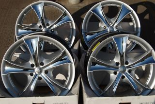 17 Silver RSGT Alloy Wheels Fits Ford Fiesta MK3