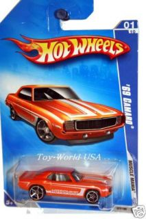 2009 Hot Wheels Muscle Mania 77 69 Chevy Camaro