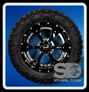 20 Wheels Rims BMF Novakane Death Metal with 305 55 20 Nitto Trail