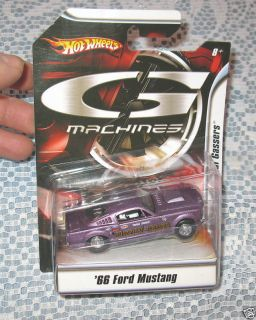 Hot Wheels G Machines 66 Ford Mustang