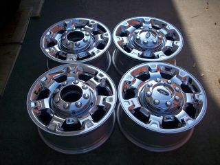 18 Ford F250 F350 Super Duty Factory Chrome Wheels Rims 2012