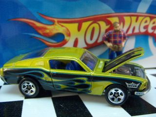 04 Hot Wheels 1968 Ford Mustang Mint Loose 1 64 Scale
