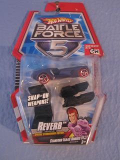Hot Wheels Battle Force 5 Reverb Special Stormshock Edition 1 64