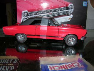 GMPs 67 Ford Fairlane GT 390 W Factory Mag wheels Red Convertible 1 of