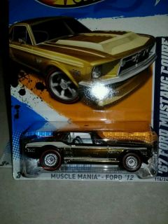 2012 Hot Wheels Super Treasure Hunt 67 Ford Mustang Coupe Hunts VHTF