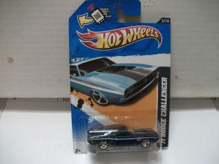 2012 Hot Wheels Super Treasure Hunt 71 Dodge Challenger