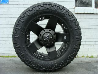 XD Rockstar 775 Black Wheels 285 65 18 Nitto Trail Grappler Tires