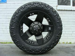 XD Rockstar 775 Black Wheels 285 65 18 Nitto Trail Grappler Tires