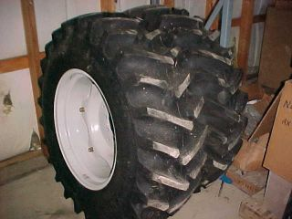 Ford New Holland 1920 Tractor Rear Tires and Rims