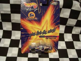 2000 32 Ricky Craven 1 64 Hot Wheels Racing Tide Car