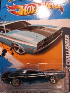 2012 Hotwheels Super Treasure Hunt 71 Dodge Challenger