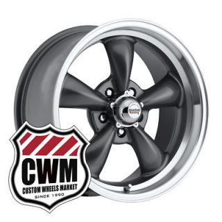 Gray Wheels Rims 5x4 75 Lug Pattern for Chevy Laguna 73 76